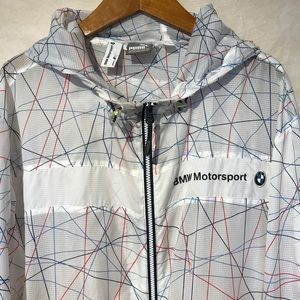 BMW Motorsports Puma XXL Windbreaker Hooded A2846